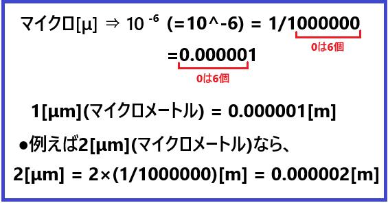 マイクロ(μ)とは何か?マイクロが単位ではないって知ってた?