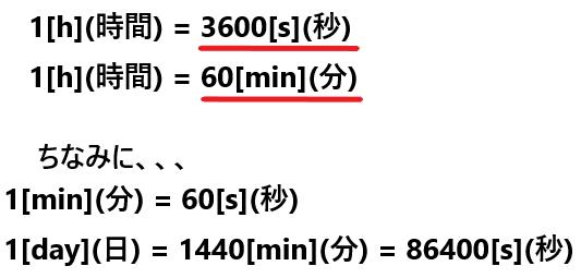1時間は何秒?1時間は何分?単位(時間)の簡単な覚え方について